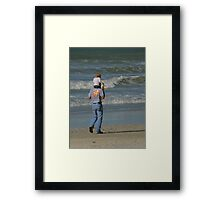 Views From The Beach : Carry Thy Love Framed Print