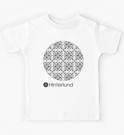 Yolked Cross Pattern Kids Tee