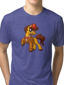 11th Dr. Whooves Tri-blend T-Shirt