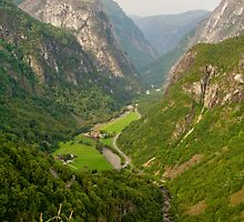 Valley view by Lars Clausen