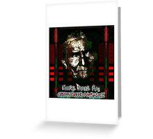 Geronimo Ghost Greeting Card