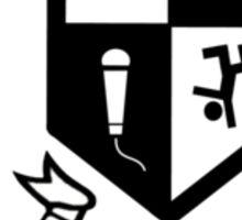 90s School of Rap Logo Sticker