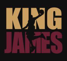 Lebron James - King James team colors by SOVART69