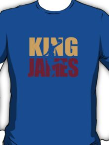 Lebron James - King James team colors T-Shirt