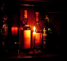 Whisky & Candle Just Glow Together by DonDavisUK