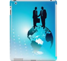 Global Business Background iPad Case/Skin