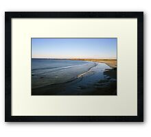 Quilty view  Framed Print