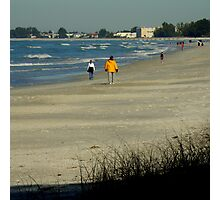 Views From The Beach : Winter In Florida Photographic Print