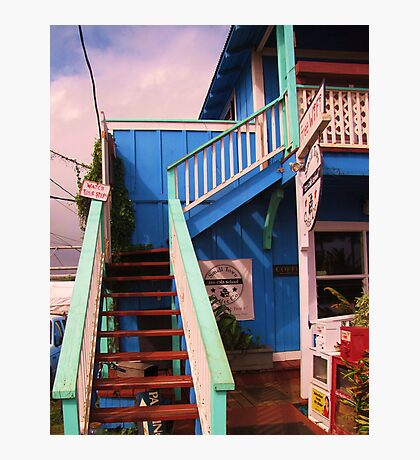 Small Town Coffee House Photographic Print
