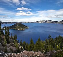 Crater Lake National Park by Portia Soderberg