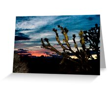 Wee Thump Sunset Greeting Card