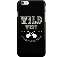 Wild West Country music  iPhone Case/Skin