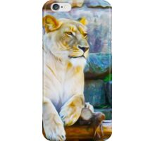 The Lioness - Queen of the Jungle By Aspen Willow iPhone Case/Skin