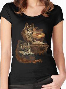 Patient Predators Women's Fitted Scoop T-Shirt