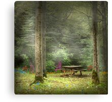 Magic Forest 3 Canvas Print