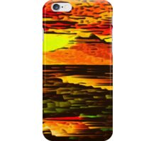 Picture 2015066 Justin Beck Mountain Sunset iPhone Case/Skin