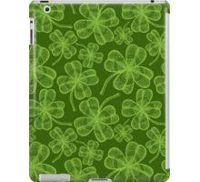 Clover pattern iPad Case/Skin