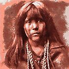 Mosa, Mohave Indian Boy 1903 by Dennis Melling