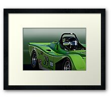 SCCA Racecar SRF Framed Print