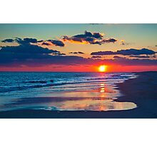 Beautiful New Year's Eve Sunset 2014  Photographic Print