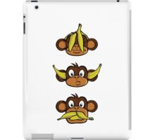 See no evil, hear no evil, speak no evil iPad Case/Skin