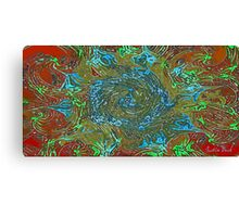 Picture 2015071 Justin Beck Abstract Flower Canvas Print