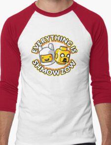 Everything Is Shmowzow ! Men's Baseball ¾ T-Shirt