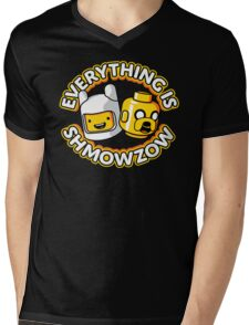 Everything Is Shmowzow ! Mens V-Neck T-Shirt