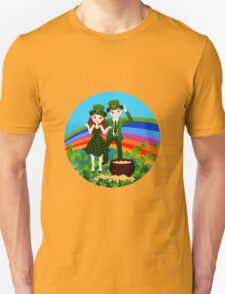 Kids in St.Patrick Day Unisex T-Shirt