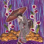 Purple Rain by Darlene Virgin