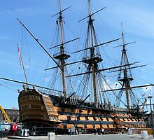 HMS VICTORY by Woodie