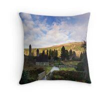 Glendalough, Co. Wicklow Throw Pillow