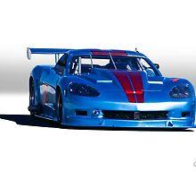 2004 Chevrolet Corvette SP Racecar  by DaveKoontz