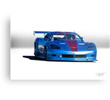 2004 Chevrolet Corvette SP Racecar  Metal Print
