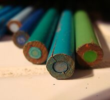 Colored Pencil Macro by Catherine  Howell