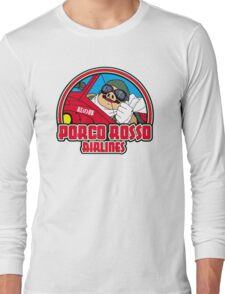 Pig airlines Long Sleeve T-Shirt