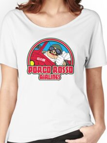 Pig airlines Women's Relaxed Fit T-Shirt