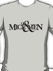 Of Mice And Men Name T-Shirt