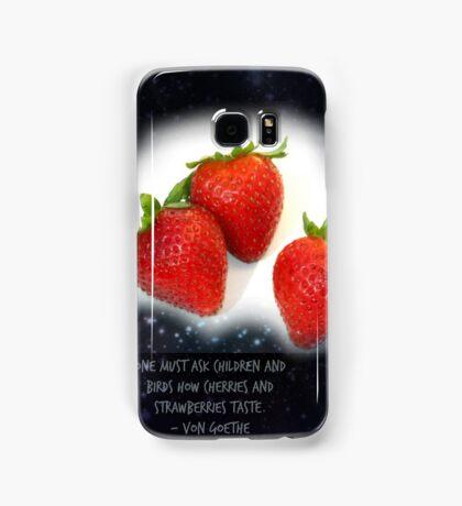 strawberry phone case Samsung Galaxy Case/Skin