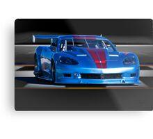 2004 Chevrolet Corvette SP Racecar Metal Print