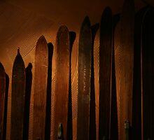 Night Ski by Steve Lichuk