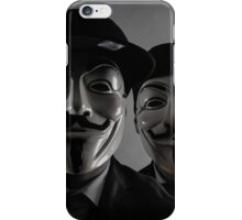 Masked Duo iPhone Case/Skin