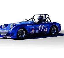 1958 Austin Healey 'BugEye' Sprite GTL III by DaveKoontz