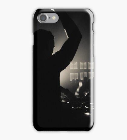Nightclub Dj Silhouette iPhone Case/Skin