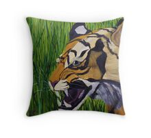 His ROAR Gives Me Chills Throw Pillow
