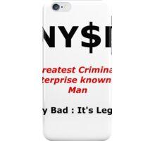 NYSE Poking Fun iPhone Case/Skin