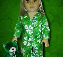 MY IRISH PIJAMAS MY TEDDY AND ME-MAY THE LUCK OF THE IRISH BE WITH U AND WITH ME -PICTURE AND OR CARD by ✿✿ Bonita ✿✿ ђєℓℓσ