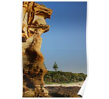 Lone Pine - Caves Beach Poster