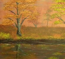 """""""Autumn Creek; Untouched by Man"""" (2014) by JackLepper"""