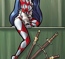 3 of Swords by Ian Sokoliwski